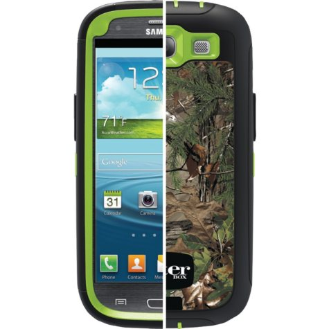 Otterbox Realtree Defender Case for Samsung Galaxy Slll - Xtra Green