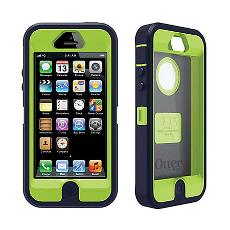 OtterBox iPhone 5/5S Defender Case - Lime/Gray