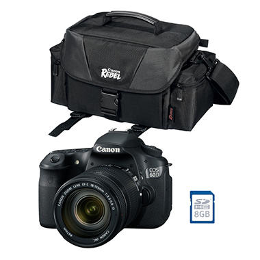 Canon 60D DSLR Bundle with EF-S 18-135mm f/3.5-5.6 IS Lens