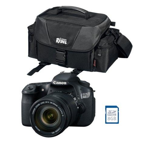 Canon 60D DSLR Bundle with EF-S 18-135mm f/3.5-5.6 IS Lens
