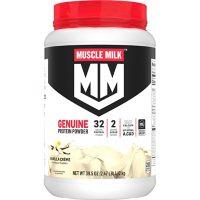 Muscle Milk Genuine Protein Powder, Vanilla Cream (39.5 oz.)