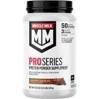 Muscle Milk Pro Series Protein Powder Supplement, Knockout Chocolate (40.7 oz.)