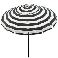 Deluxe 8' Outdoor Umbrella with Travel Bag (Various Colors)