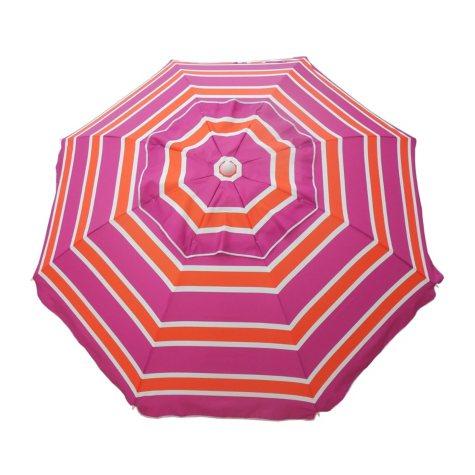 DestinationGear 7' Beach Umbrella, Mango Rose