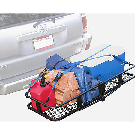 """HitchMate Mounted Cargo Carrier 2"""" Receiver"""