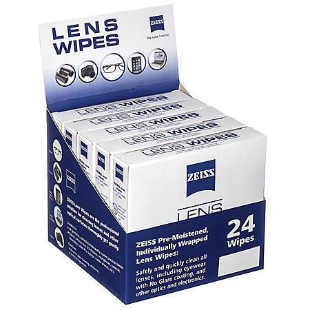 ZEISS Pre-Moistened Individuall Wrapped Lens Wipes (360 ct ) - Sam's