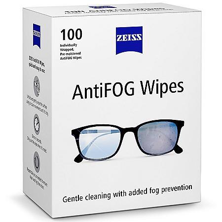 ZEISS Anti-Fog Wipes (100 ct.)