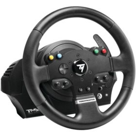 Thrustmaster TMX Force Feedback Racing Wheel for Xbox and PC, Black