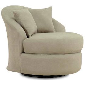 Tremendous Oxford Microfiber Swivel Chair Mist Sams Club Pdpeps Interior Chair Design Pdpepsorg