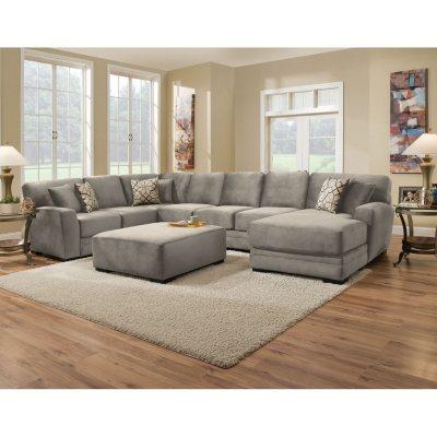 Memberu0027s Mark Brookeu0027s Collection 3 Piece Sectional Sofa