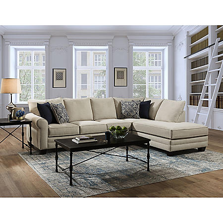 Luna 2-Piece Sectional