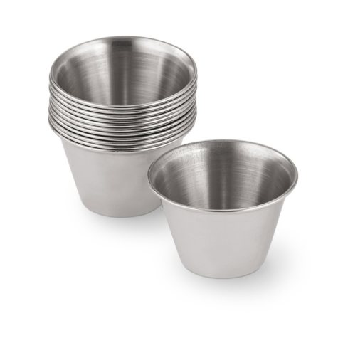 Daily Chef Stainless Steel Sauce Cups, 12 pk