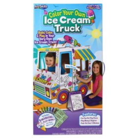 ArtSkills Color Your Own Ice Cream Truck