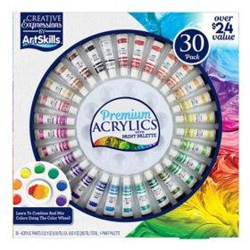 ArtSkills 30 Piece Premium Acrylic Paint Set