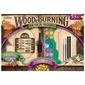 ArtSkills Wood Burning Kit, 53-Piece Set