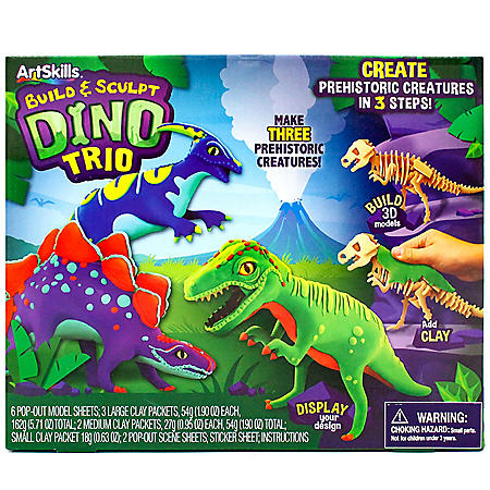 Build and Sculpt Dino Kit by ArtSkills