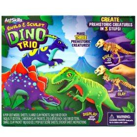 Build and Sculpt Dino Kit by ArtSkills
