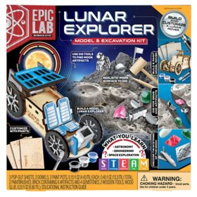 Epic Lab Lunar Explorer,  Model and Excavation Kit