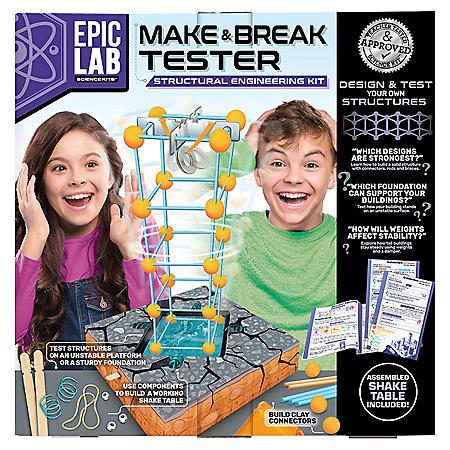 ArtSkills Epic Lab Make & Break Tester STEM Engineering Kit