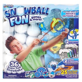 ArtSkills Snowball Fun: Games and More, Indoor, Outdoor Play