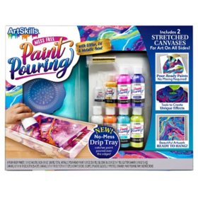 ArtSkills Acrylic Paint Pouring Art Activity Kit