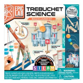 ArtSkills Epic Lab Trebuchet Catapult Science STEM Kit