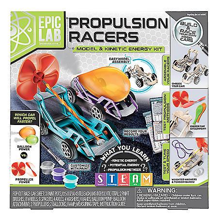 ArtSkills Epic Lab Propulsion Race Car STEM Kinetic Kit