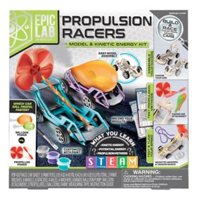 ArtSkills Epic Lab Propulsion Race Car STEM Kinetic Kit