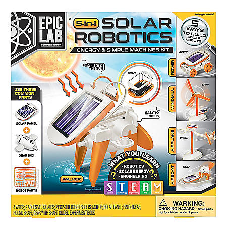 ArtSkills Epic Lab Solar Energy Robotics STEM Science Kit