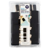 ArtSkills Craft Foam Paint Brush Set, 4 Sizes, 48 Pieces