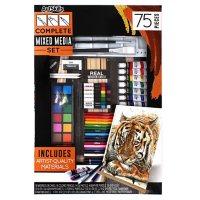 ArtSkills Complete Mixed Media Art Set with Easel, 75 Pcs