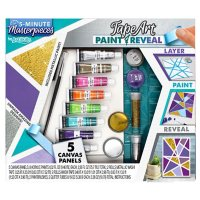 ArtSkills 5 Minute Masterpiece Washi Tape and Paint Art Kit