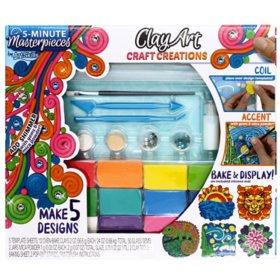 ArtSkills 5 Minute Masterpieces Clay Art Craft Activity Kit