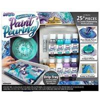 ArtSkills Acrylic Paint Pouring Art Activity Kit, Metallic
