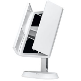 Fancii Zora Rechargeable Vanity Mirror with 3 Light Settings