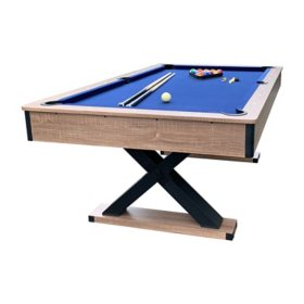 Excalibur 7' Pool Table - Driftwood Finish