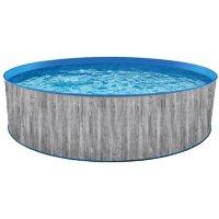 """Blue Wave Capri Steel Wall Pool Package - 15' Round 48"""" Deep"""
