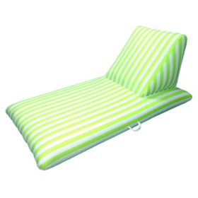 Lime Green Pool Chaise Lounge - Morgan Dwyer Signature