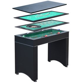 Monte Carlo 4-In-1 Multi-Game Casino Table - Includes Accessories