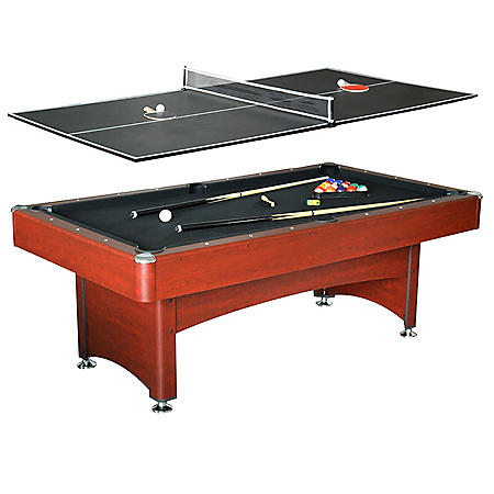 Bristol 7' Pool Table with Table Tennis Top