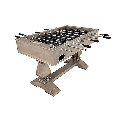 "Montecito 55"" Foosball Table with Drink Holders and Analog Scoring - Driftwood Finish"