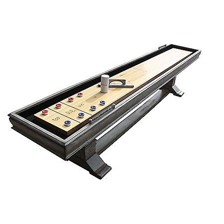 Montecito 12' Shuffleboard Table - Driftwood Finish