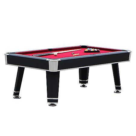 Jupiter 7' Pool Table - Black