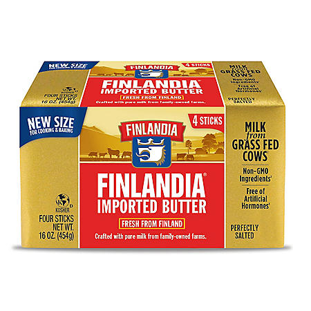 Finlandia Imported Grass Fed Salted Butter (1 lb.)