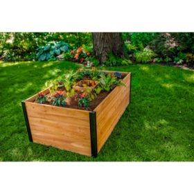 Mezza 3 x 5 Keyhole Garden