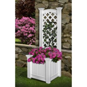 Kensington Planter and Trellis