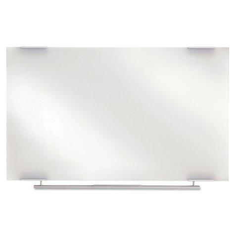 Iceberg Clarity Glass Dry Erase Board, Frameless,  48 x 36