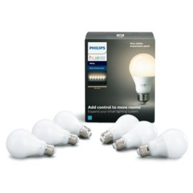 Philips Hue 6-Pack White Smart Bulb Expansion Pack