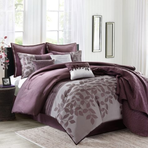 Lauren Comforter and Coverlet Set (10 pcs.) - Various Sizes