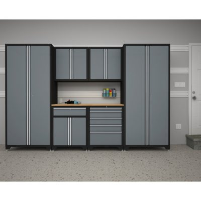 NewAge Pro Series 7 pc Cabinet Set Gray Sams Club